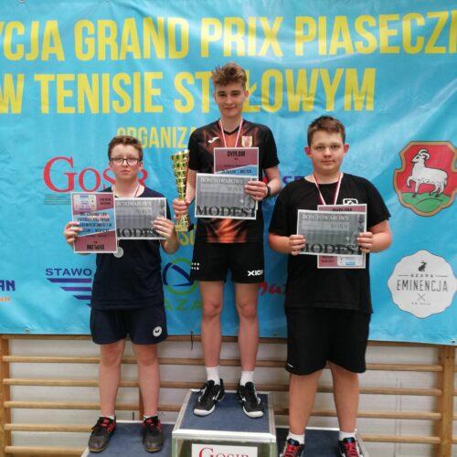 Rozpoczęły się zmagania w XXIII edycji Grand Prix Piaseczna w tenisie stołowym