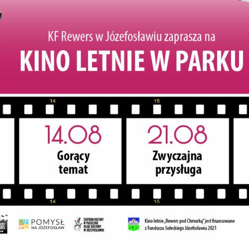 Kino letnie w Józefosławiu 2021