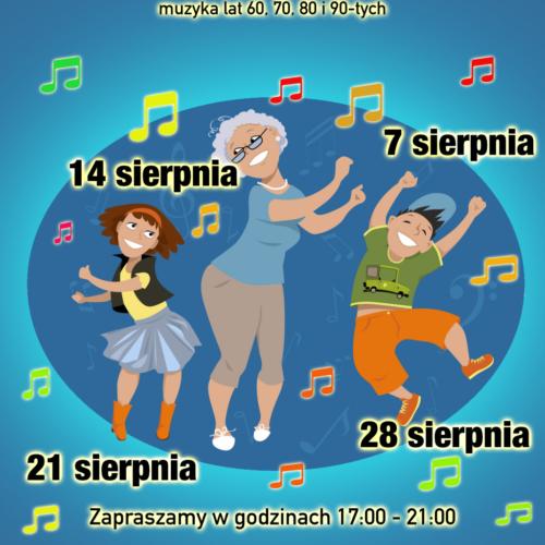 Potańcówka na Kisielu – dancing międzypokoleniowy na skwerze Kisiela w Piasecznie
