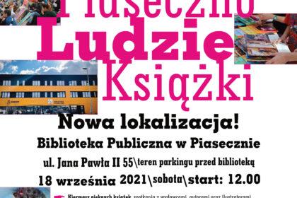 """6. Festiwal Pięknej Książki """"Piaseczno – Ludzie – Książki"""""""